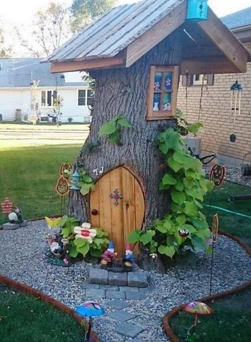 Turn a tree stump into this!