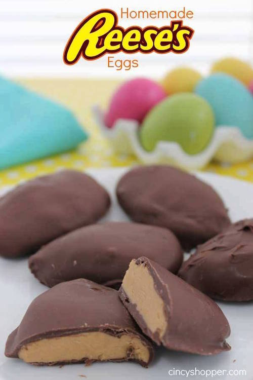Homemade Reese's Eggs - I've heard these are the most delicious treats ever! Must try....