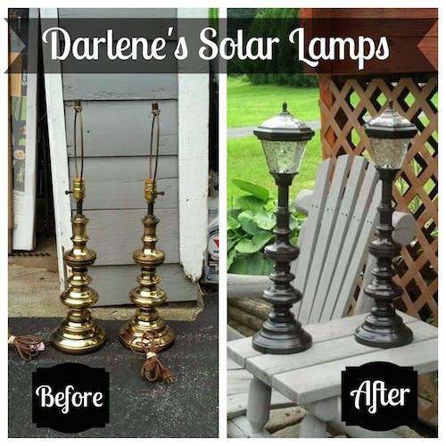 DIY Solar Lamps. Must try!