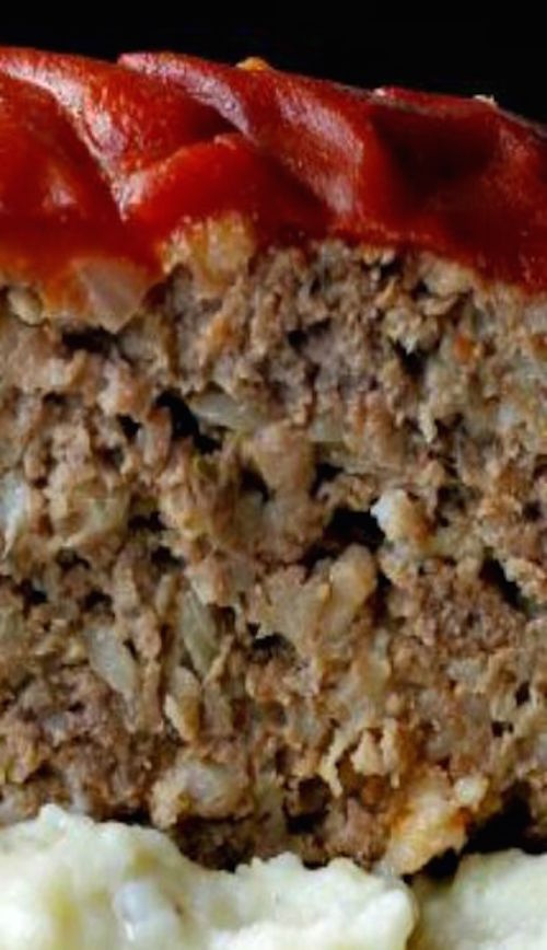 GRANDMA'S OLD FASHIONED MEATLOAF - must try!