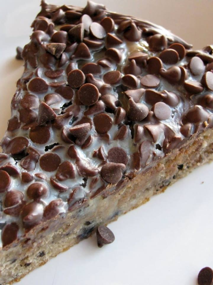 CONDENSED MILK BROWNIE PIE