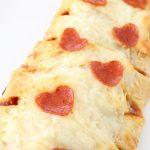 Valentine's Day Pizza Braid