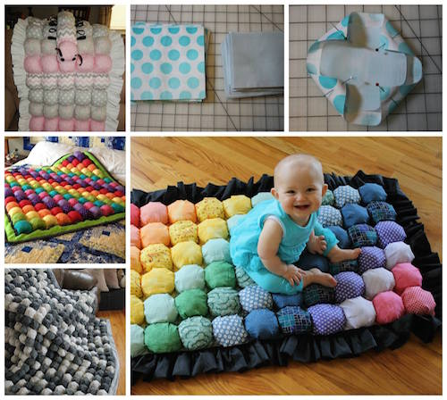 How to make a bubble quilt! Click the picture to make one or click the link to below to buy one.