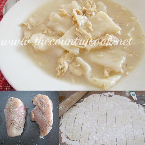 How to make chicken and dumplings from scratch! I'd love to try this -
