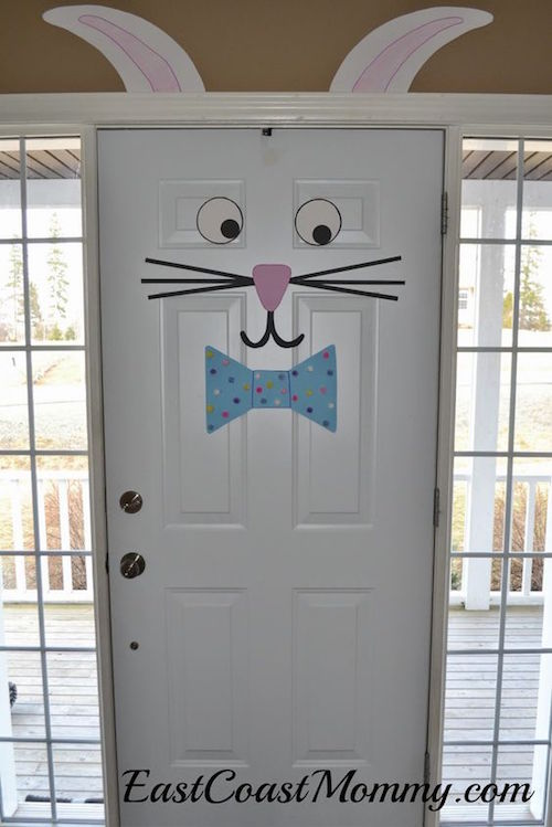 Easter Bunny Door - so easy!