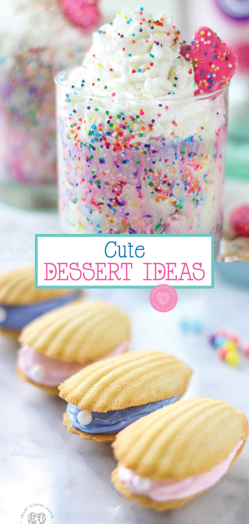 Cute Dessert ideas for any occasion or just for fun!