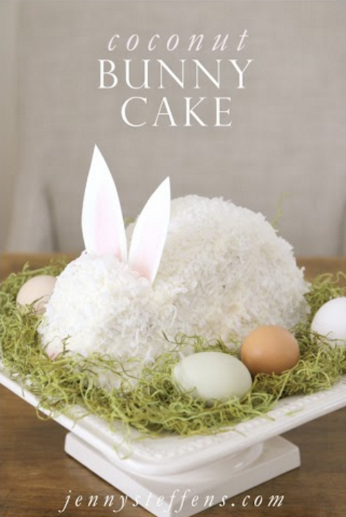 How to make a Bunny Cake - saving this!