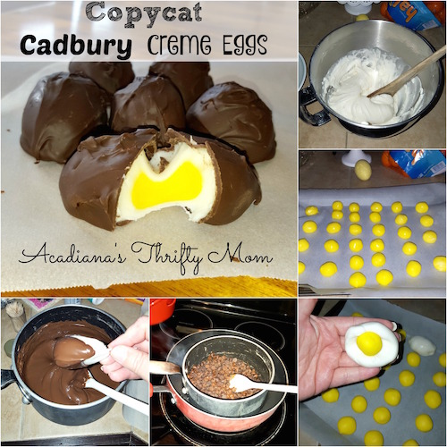 Copycat Cadbury Egg Recipe - Must try! These are an Easter time classic!