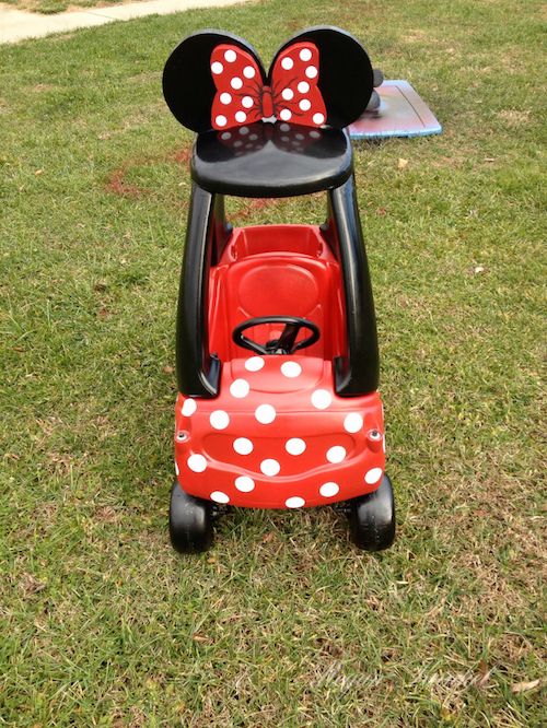 Minnie Mouse care makeover! WOW - this is a very fun tutorial to see!