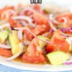 Avocado and Tomato Salad recipe - easy and delicious!