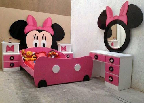 Neat disney ideas - Mini mouse bedroom ...