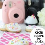 Kids Recipe by Photo - How to make Cupcake Cookies