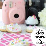 Kids Recipe by Photo - How to make Cupcake Cookies