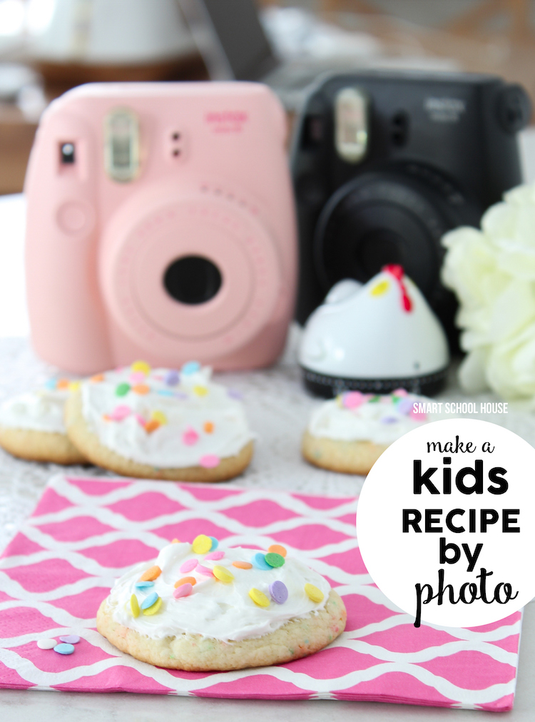 Kids recipe by photo - cupcake cookies!