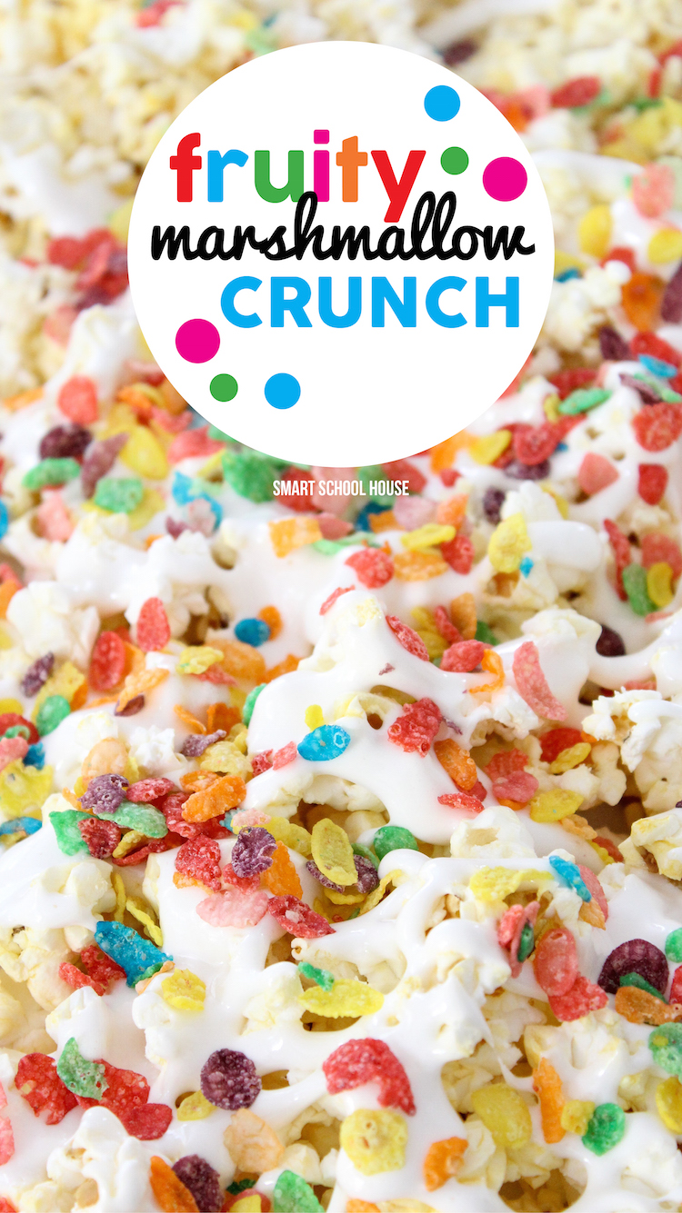 Fruity Marshmallow Crunch - quick and easy dessert idea