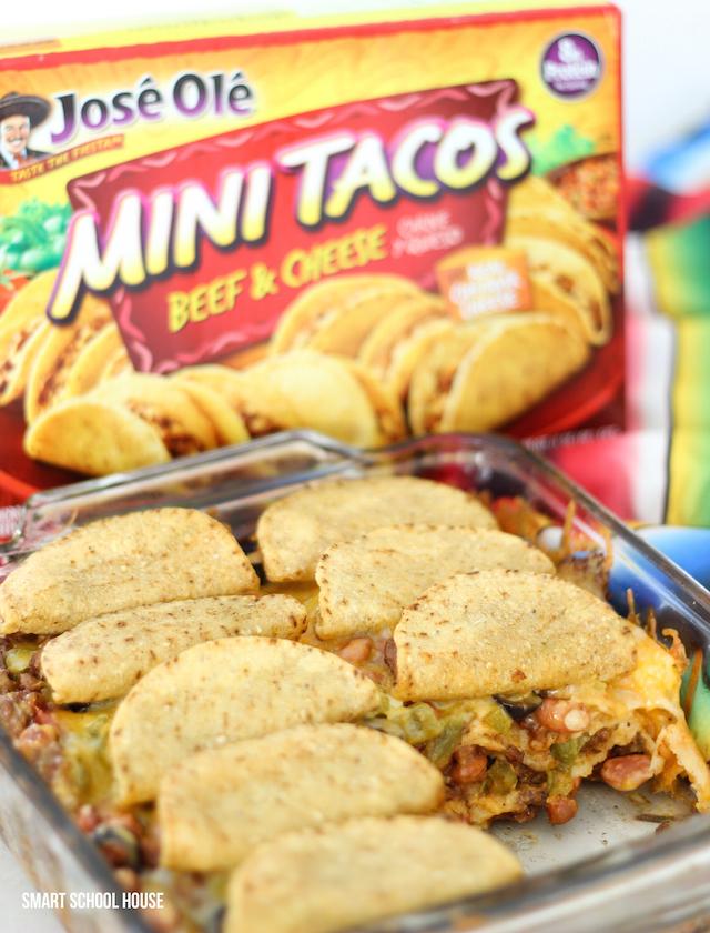 José Olé Mini Taco Lasagna recipe