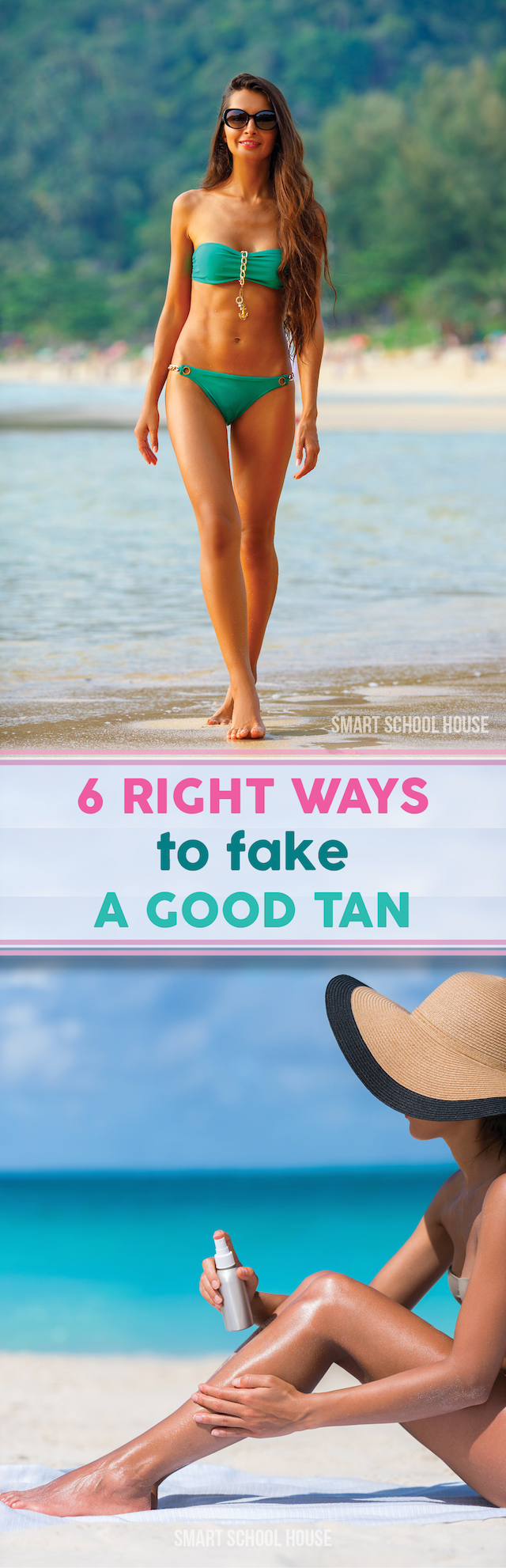 Self Tanning THE WRONG way - saving this!