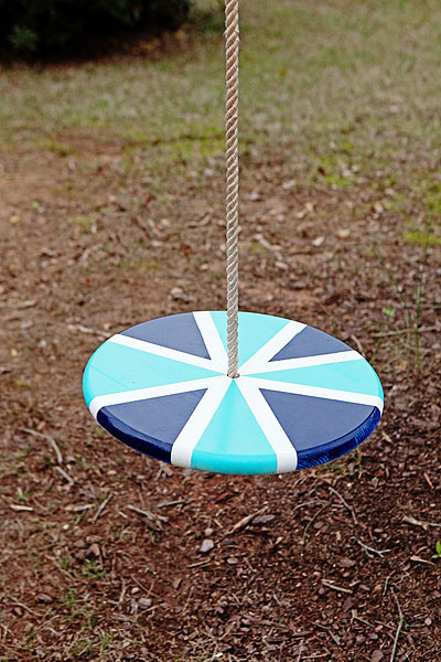 Give your kids these simple supplies and let them make a DIY swing!