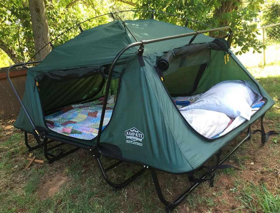 Camping Sleeping Bed Double Tent Cot