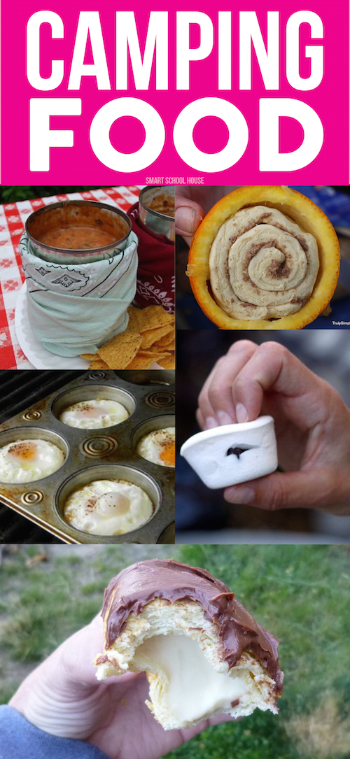 Camping food. DIY camping and BBQ recipe ideas.