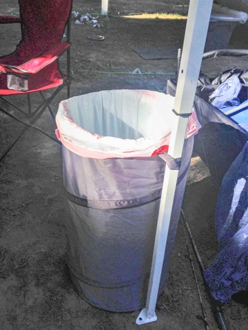 Collapsible Clothes Hamper Trash Can