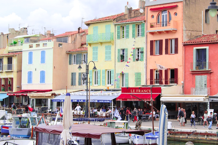 Shopping in Cassis, France
