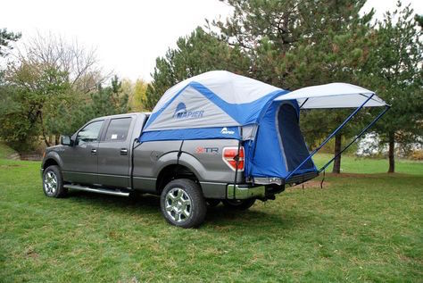 Get a truck tent for impromptu camping trips or if you're just really want to feel more comfortable!