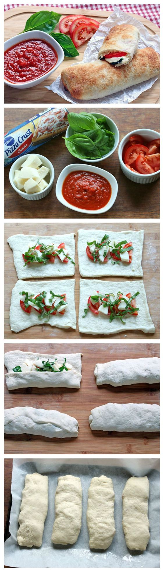 With just 5 ingredients and less than 10 minutes of prep, you'll be devouring these calzones in no time! Wrap them in foil and take one for lunch.