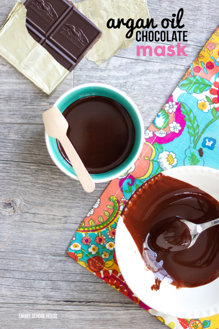 DIY Argan Oil Chocolate Mask