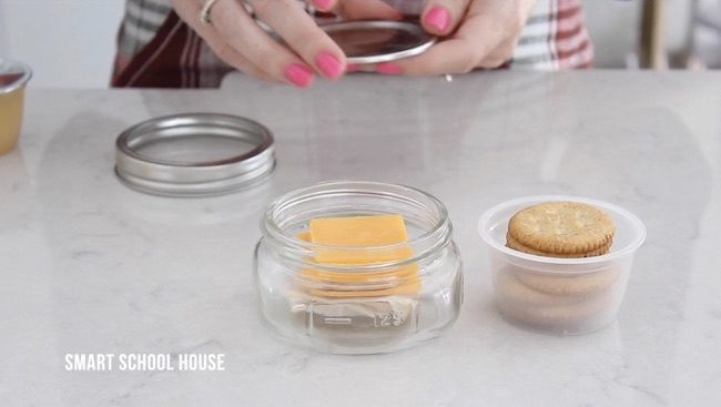 Mason Jar Lunchable