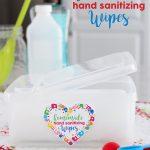 DIY Homemade Hand Sanitizing Wipes Tutorial