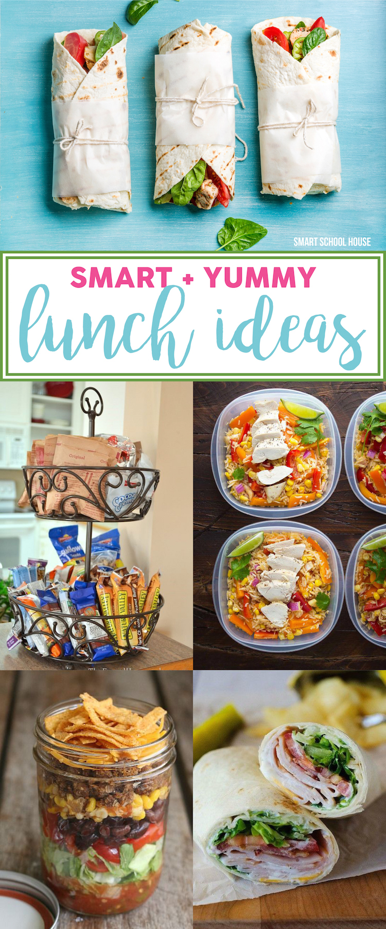 Smart and Yummy lunch ideas