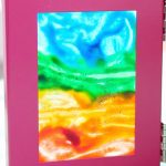 DIY Kids Stained Glass Art