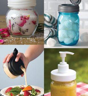 smart ways to use a mason jar