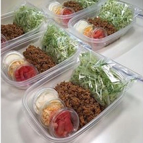 Taco Salad Lunch recipe! Great to take to work.