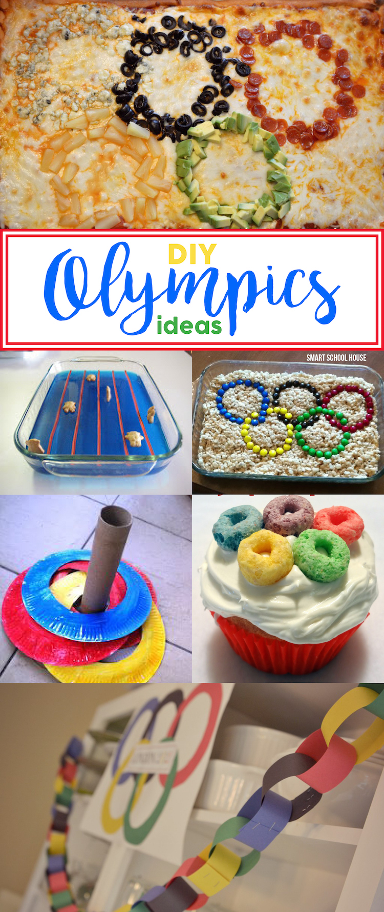 DIY Olympics ideas