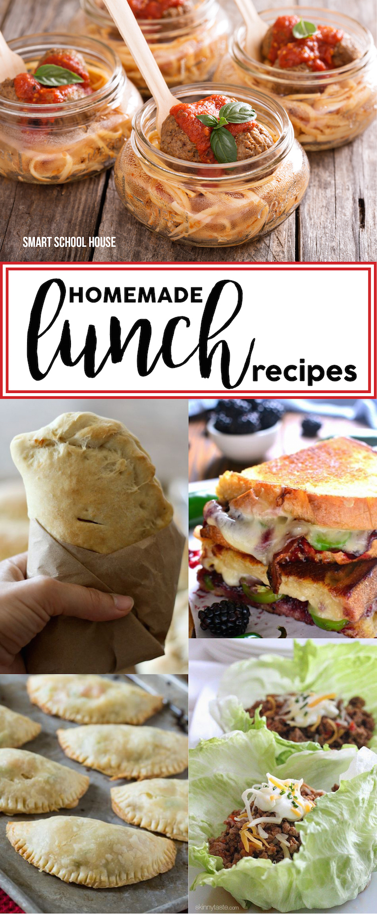 lunch lunches homemade recipes easy healthy diy eat smart yourself work meals snacks really some recipe box menu