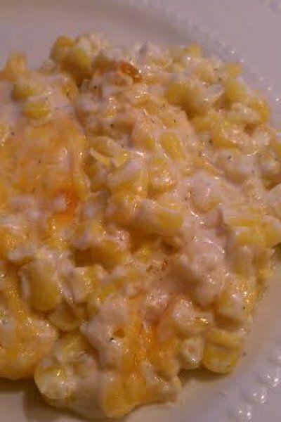 Cream Cheese Corn Casserole. Thanksgiving recipe done right! Simple, decadent, and delicious.