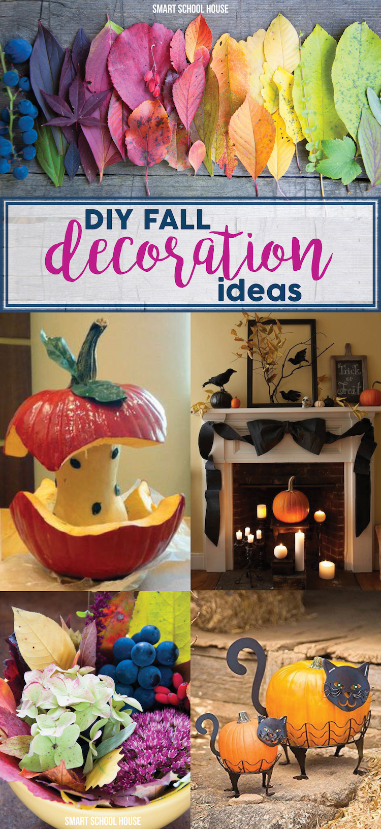 Decorating Ideas For Rentals: DIY Fall Decoration Ideas