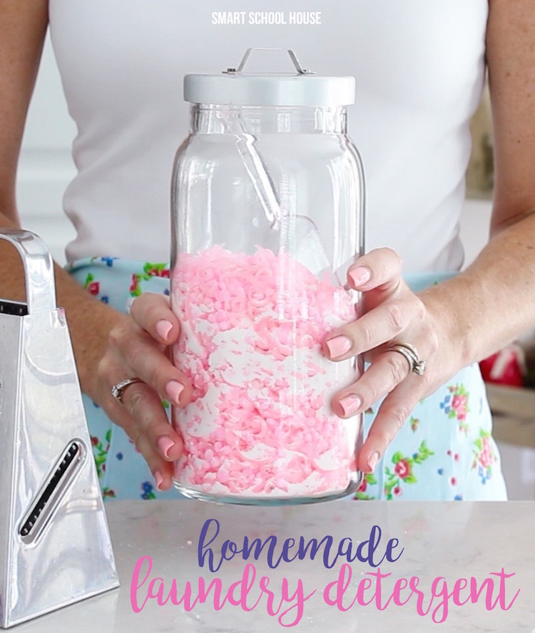 Recipes for Homemade Laundry Detergent and Cleaning Products