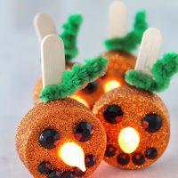 Tea Light Pumpkins