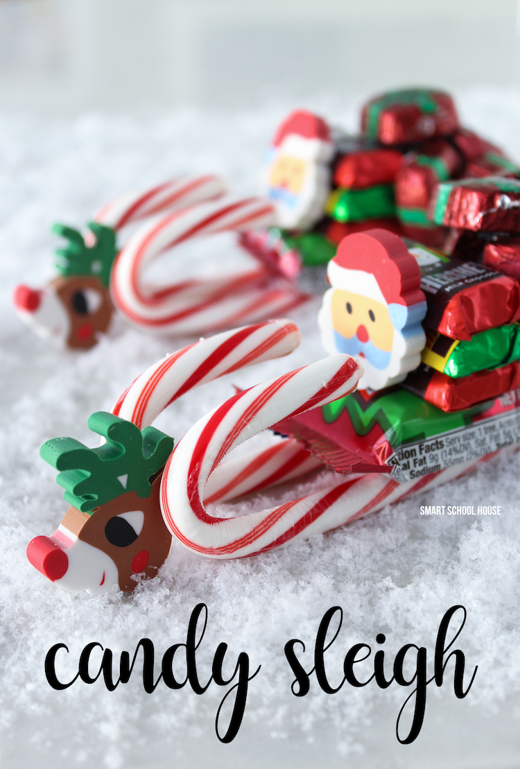 How To Make A Candy Sleigh Smart School House