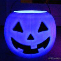 Glowing Pumpkin Pails