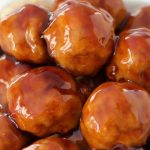 Pineapple Turkey Teriyaki Meatballs - A 30 minute freezer meal recipe for delicious and EXTRA juicy meatballs with an irresistible teriyaki glaze sauce.