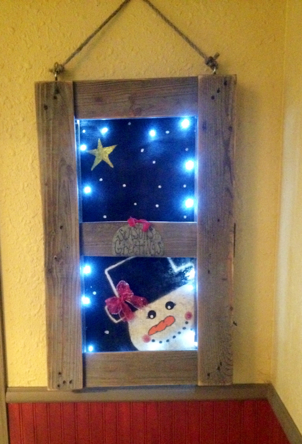 Rustic Holiday Decor Smart School House