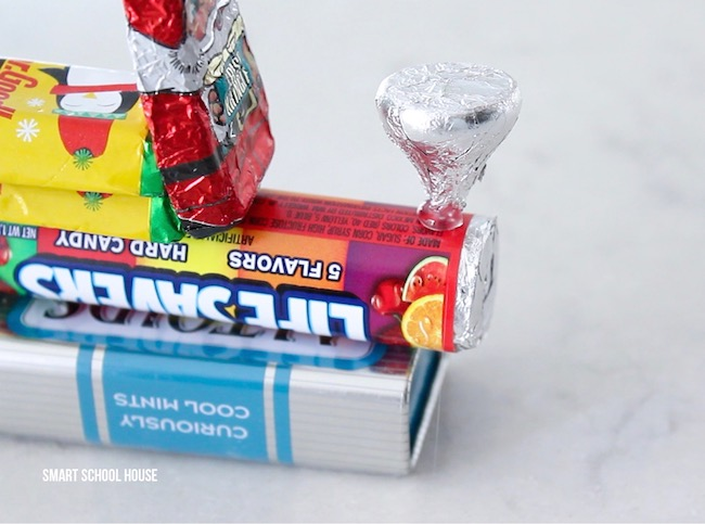 How to make a Candy Train for Christmas. ADORABLE!