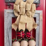 How to make a picture frame wreath. A DIY rustic picture frame Christmas wreath idea for the holidays.