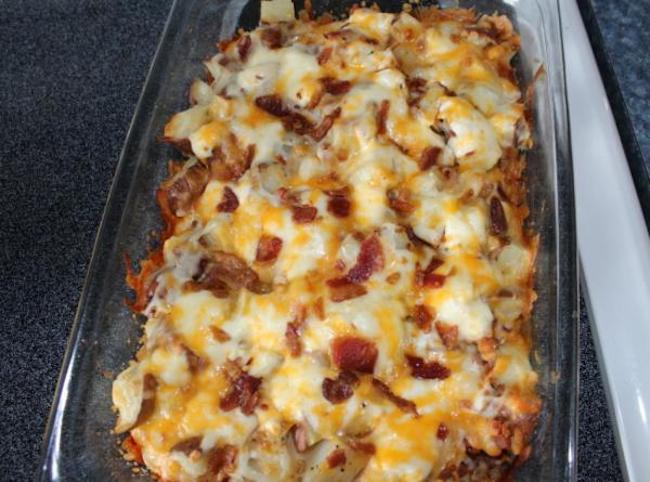 20 minute Twice Baked Potato Casserole. Found this at Taste of Home and all I can say is that it was a huge hit with my guys at the dinner table. I made it a couple of weeks ago…