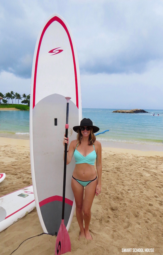 SUP - Stand Up Paddle at Disney's Aulani Resort and Spa