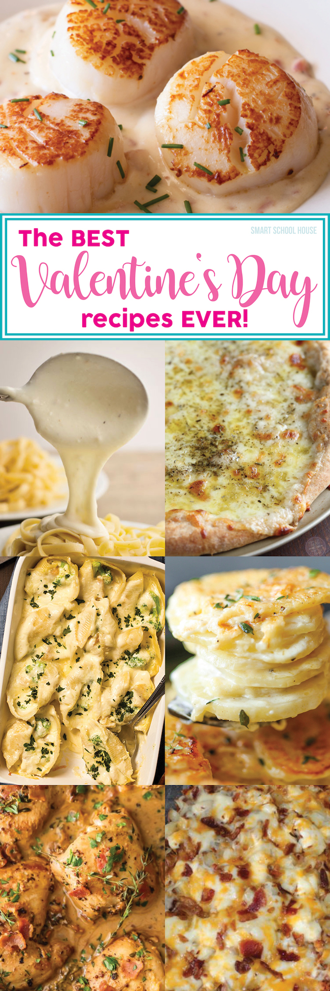 The Best Valentine's Day Recipes Ever #ValentinesDay #ValentinesDayRecipes #ValentinesDayDinner #ValentinesDayIdeas #DIYValentinesDay